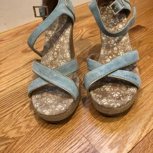 Toms Strappy Wedges - Wedding Collection